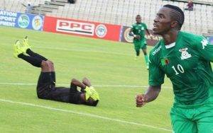 Zambian footballer Fashion Sakala
