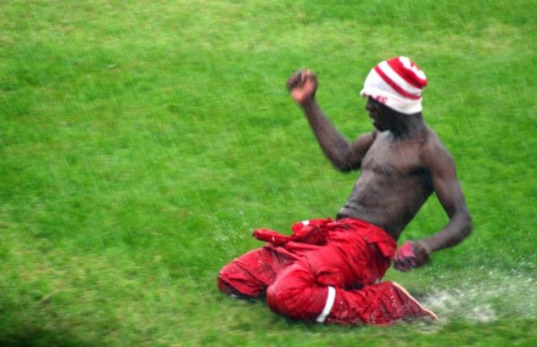 Nkana football club fan