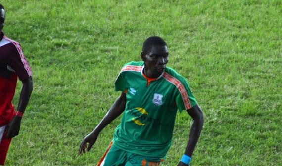 Misheck Chaila of Zesco United