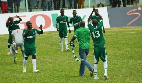 Mufulira Wanderers first goal in the premier league in 9 years with Warren Kunda, Fumbani and Mumba Mutale