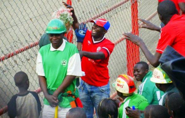 Green Buffaloes fans