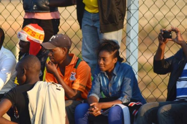 Female fans in Zambia super league