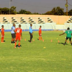 training session at Nkoloma