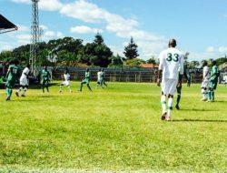 Mufulira Wanderers defender Warren Kunda