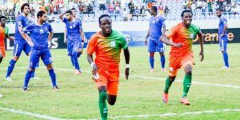 Clatous Chama of Zesco against Al Ahly