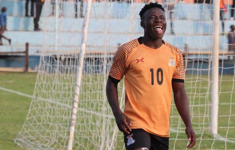 Zambian football player Lameck Banda