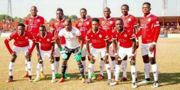 nkana line up that defeated Zesco United