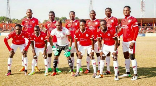 nkana line up that defeated Zesco United