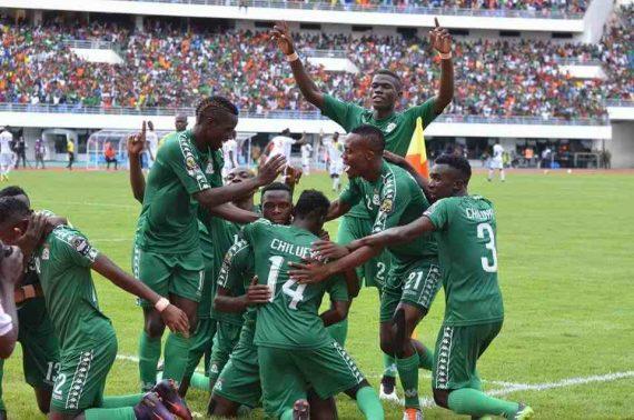 Patson daka scored for Zambia against Guinea