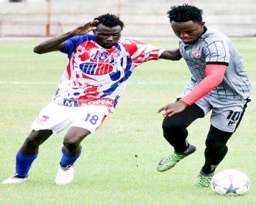 Walter Bwalya in the preseason match Nkana vs Buildcon