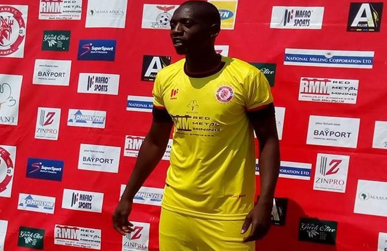 Zambian Goalkepper Allan Chibwe