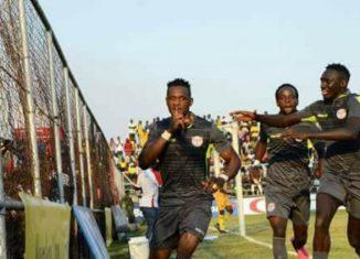 Chrispin Mugalu punished nkana in week 30 of the MTN FAZ super league