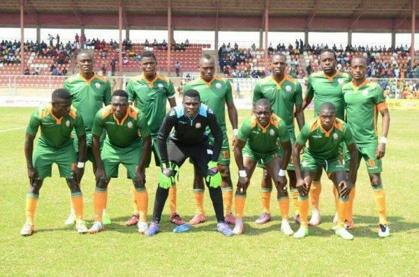 Green Eagles 2017 starting eleven