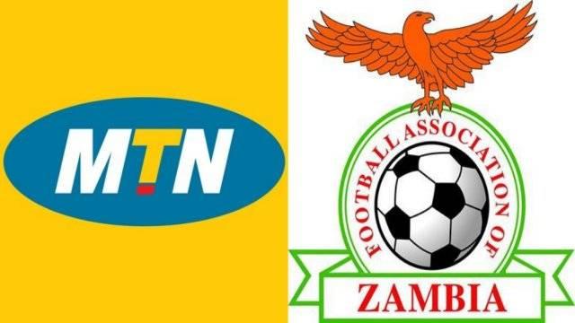 MTN Football association of Zambia logo