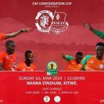 Caf Confederations Nkana vs Zesco United