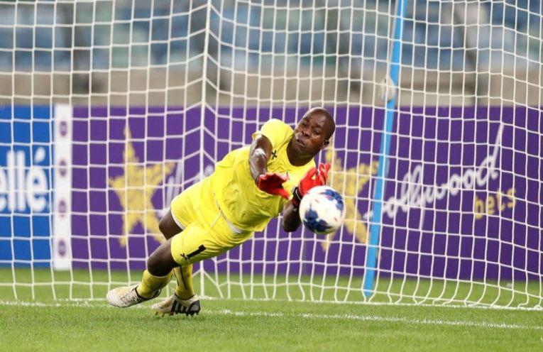 Zambian Goalkeeper Sebastian Mwange