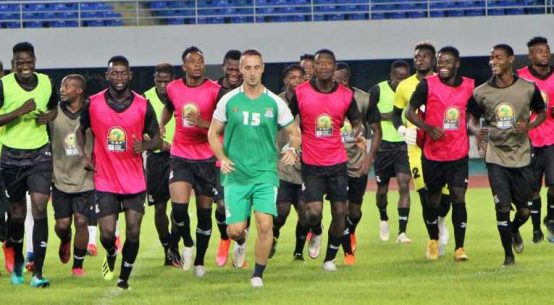 Zambia vs Algeria 2021 AFCON Qualifiers
