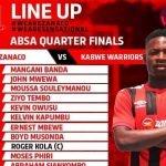 Zanaco vs Kabwe Warriors 2021 Absa Cup