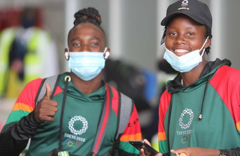 Copper Queens the Zambia national women's team off to Tokyo 2020 Olympics