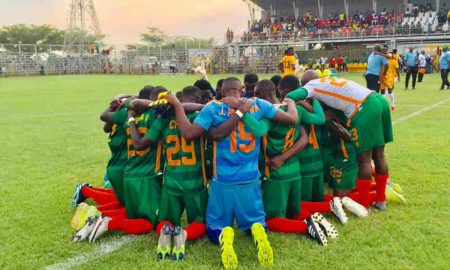 Green Eagles in Super league 2021-22
